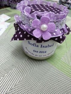 My first tooth! | Mi primer diente Sofía Isabel First Tooth, Teeth, Ribbon, Jar, Baby Shower, Candy, Bar Ideas, Creative Things, Jars