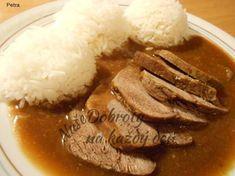 Czech Recipes, Ratatouille, Ham, Pork, Food And Drink, Beef, Cooking Ideas, Healing Stones, Arizona