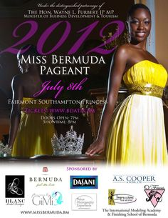 Miss Bermuda 2012 - Sunday 8th July 2012