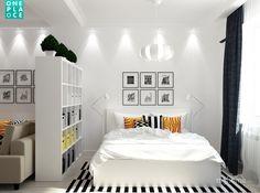 Проект двукомнатной квартиры в спальном районе Москвы для молодой семьи.