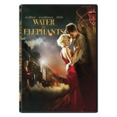 Rent Water for Elephants starring Reese Witherspoon and Robert Pattinson on DVD and Blu-ray. Get unlimited DVD Movies & TV Shows delivered to your door with no late fees, ever. One month free trial! Great Movies, Great Books, Amazing Movies, Interesting Movies, Movies Free, Love Movie, I Movie, Movie Stars, Movies Showing