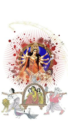 Durga Maa, Durga Goddess, Lord Ganesha Paintings, Hindu Rituals, Canvas Art, Miniatures, Gallery, Design