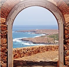 The gate to Santiago island #CaboVerde #Kaapverdie