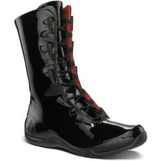 Ahnu Women's Laguna Style #: AF2367-BLK   Stop caring about the trivial downpour with this ultimate city boot. This shoe from Ahnu Spring 2013 Collection features waterproof patent leather that keep your feet dry. Its classy detailing includes horn shaped toggles and lace up fastening. This mid calf boot is designed to ensure all day comfort.   #Ahnu at www.TheShoeMart.com #theshoemart