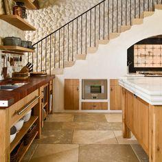 Küche Landhaus weiß schwarz   Moderne Landhausküche, Landhausküche ...