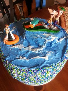 My Boys Birthday Cake - Phinneas and Ferb