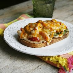 Spicy Jerk Turkey Melts - @Sarah Chintomby Chintomby W. Caron