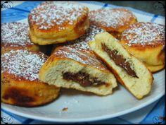 Bollitos a la sartén rellenos de crema de chocolate y avellanas | Cocina