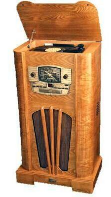1930's Antique Old Style Console Radio Replicas - Nostalgic Crosley Vintage Replica Radios