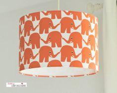 Lampshade, children lamp, Elephant