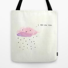 Good morning  Tote Bag by Alba Blázquez - $22.00