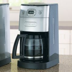Cuisinart Automatic Grind & Brew 12-Cup Coffee Maker - http://teacoffeestore.com/cuisinart-automatic-grind-brew-12-cup-coffee-maker/
