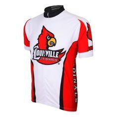 Adrenaline Promotions University of Louisville Cardinals Cycling Jersey (University  of Louisville Cardinals - L) 253dc5c91