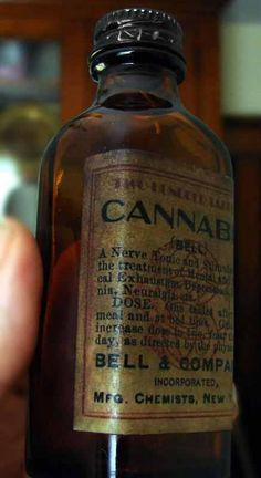 CANNABIS - soothing nerves since 1939. it was introduced by William O'Shaughnessy.