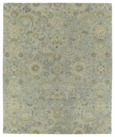 Kaleen 3200-77-912 Helena Collection Hand Tufted Area Rug, 9' x 12', Silver ** Be sure to check out this awesome product.