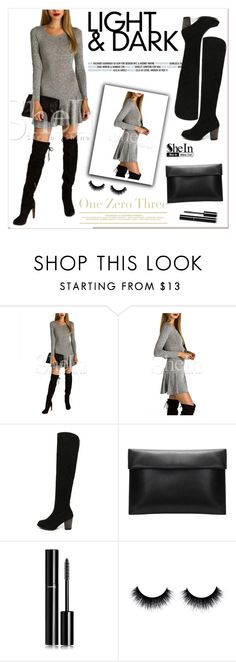 """""""SheIn"""" by amra-mak ❤ liked on Polyvore featuring мода, Chanel, women's clothing, women's fashion, women, female, woman, misses, juniors и Boots"""