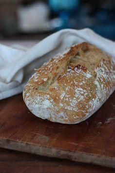 no-knead bread, herkku & koukku Savoury Baking, Bread Baking, Baking Recipes, Dessert Recipes, Nordic Recipe, Finnish Recipes, Salty Foods, Easy Bread, Evening Meals