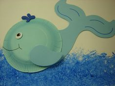 This page has a lot of free Paper plate sea animal crafts for kids,parents and preschool teachers. Sea Animal Crafts, Whale Crafts, Ocean Crafts, Animal Crafts For Kids, Toddler Crafts, Preschool Crafts, Art For Kids, Preschool Teachers, Paper Plate Crafts