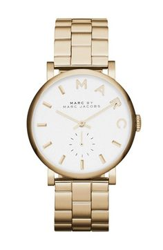 MARC BY MARC JACOBS 'Baker' Bracelet Watch, 37mm available at #Nordstrom