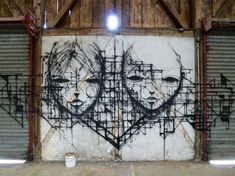 The Street Art and Drawings of IEMZA street art drawing