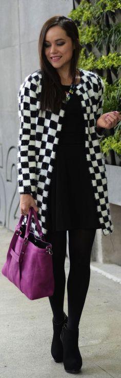 """""""Chess #coat"""" by Moda capital"""