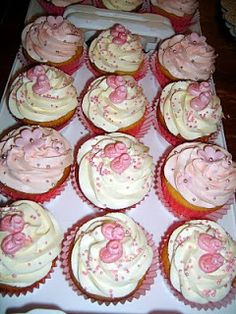 Caketopia: Baby Shower Cake and Cupcakes