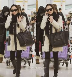 [120101] Jessica at Gimpo Airport Back from Japan