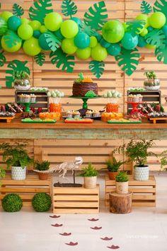 Bella Fiore Decoração de Eventos: Decoração Festa Dinossauro para Meninos