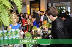 """Sampling Bud Light Lime's """"Lime-a-Rita"""" cocktails before Dinner with Chicago's Top Chefs"""