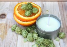Log Yard Rise & Shine Massage Candle. What's better than hops and citrus?