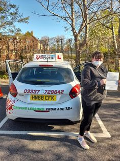 """Massive congratulations to Rebecca Young from Gillingham, Dorset on passing her test FIRST time this morning 24/04/21 in Yeovil. Rebecca said """"I passed first time with Lorraine, she was never later for my lessons. Lorraine was always understanding and flexible. I would highly recommend this company and Lorraine."""" Well done Rebecca and safe driving in the future from your Driving Instructor Lorraine Rydon & all the team here at 2nd2None Driving school. Driving School, Driving Test, Driving Courses, Driving Instructor, Gillingham, I Passed, Lorraine, First Time, Congratulations"""
