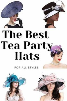 It is tea party season and we have found the best tea party hats for all the Weddings, christenings, engagements, anniversaries and many more events that can be celebrated with a fantastic tea party.