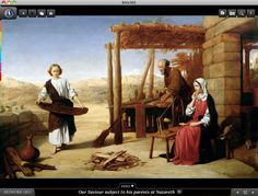 Our Saviour subject to his parents in Nazareth. Bible360 is a free interactive socially-enabled app that brings the scripture to life through video, photos, maps, virtual tours, reading plans and more! Download it for FREE, www.bible360.com