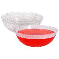 Plastic Cut-Edge Catering Bowls