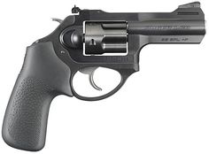 "New Ruger® LCRx™ Double-Action Revolver with 3"" bbl. & adjustable sights."