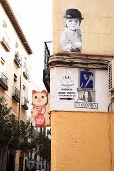 Street art Malasana Madrid