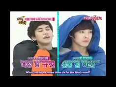(ENG) Suju & Mblaq - cuterpillar game 2-2 because you can't just see the first half without the second half xD
