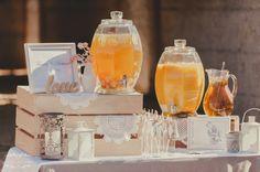 Very nice wedding drink station   Image: Soul Story