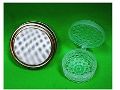 Kefir Fermenter Set of Strainer Lid Regular Size for Masonball Jars and Container for Kefir Grains Small Size  For 03 L05l Volume * You can find out more details at the link of the image.