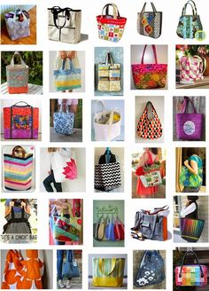 Just in time for back-to-school or holiday projects, we've assembled a collection of free sewing patterns for tote bags (and a backpack). T...