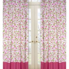 Shop for Sweet Jojo Designs Hot Pink, Lime Green and White 84-inch Window Treatment Curtain Panel Pair for Mod Circles Collection. Get free delivery at Overstock.com - Your Online Home Decor Outlet Store! Get 5% in rewards with Club O!
