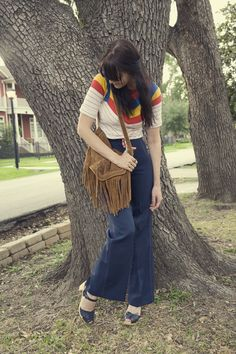 Had this exact top & purse in the 70's !!