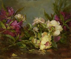 """Guinevere by Stephanie Birdsall Oil ~ 10"""" x 12"""""""