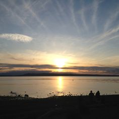 Edmonds Washington sunset! I can't wait to call this place home :)