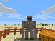 How to Make an Golem in Minecraft