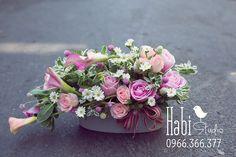 Habi flower, Habi studio, flower arrangement, birthday flower, Habi design, vintage flower