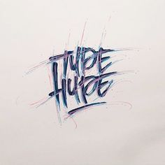 """""""Type Hype"""" by @gehanmagee"""