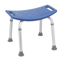 Carex Health Brands Compact Shower Stool, White   Products