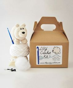Love this White Polar Bear DIY Crochet Kit on #zulily! #zulilyfinds