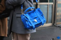 blue suede #bag :: PS1 by Proenza Schouler